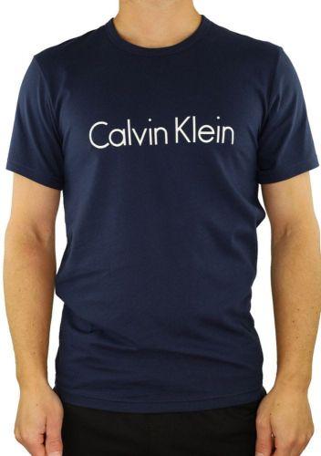 Calvin Klein Pánské tričko Calvin Klein NM1129, Tm. modrá, XL
