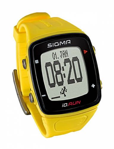 Sigma Sport Pulsmetr SIGMA iD.RUN žlutá