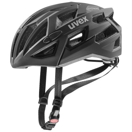 2021 UVEX HELMA RACE 7, černá 51-55 51-55