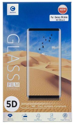 NONAME Mocolo 5D Tvrzené Sklo Black pro Samsung A530 Galaxy A8 2018