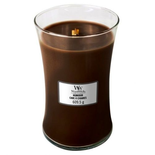 Woodwick vonná svíčka Humidor (Pouzdro na doutníky) 609 g