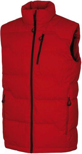 Husky pánská péřová vesta Deep červená M