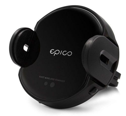 EPICO Sensor Wireless Car Charger 15 W + Car Charger 9915101300121, černá
