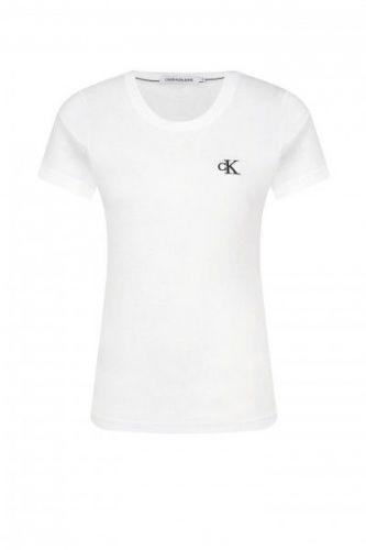 Calvin Klein Dámské basic triko Calvin Klein bílé - S