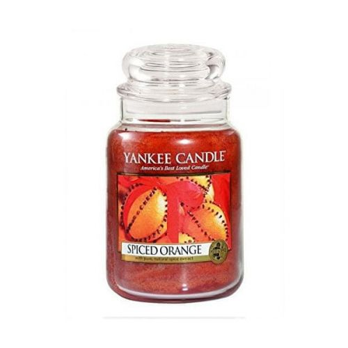 Yankee Candle Aromatická svíčka velká Spiced Orange 623 g