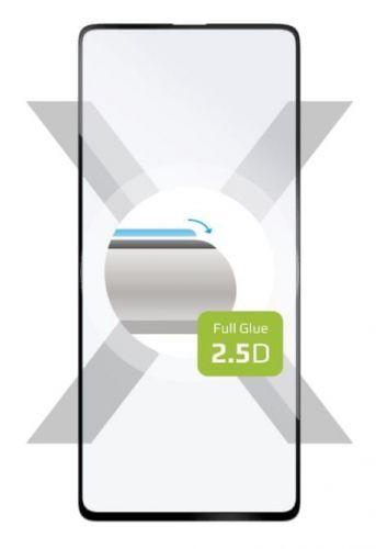 Fixed Ochranné tvrzené sklo Full-Cover pro Samsung Galaxy A51 5G, celý displej, černé FIXGFA-635-BK