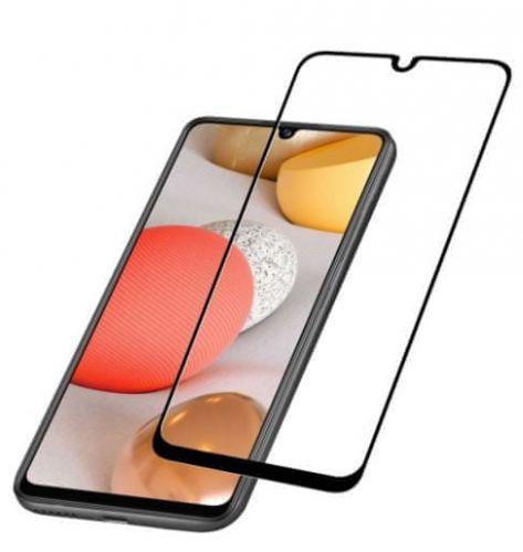 Fixed Ochranné tvrzené sklo pro celý displej Capsule pro Samsung Galaxy A42 5G, černé TEMPGCABGALA42K