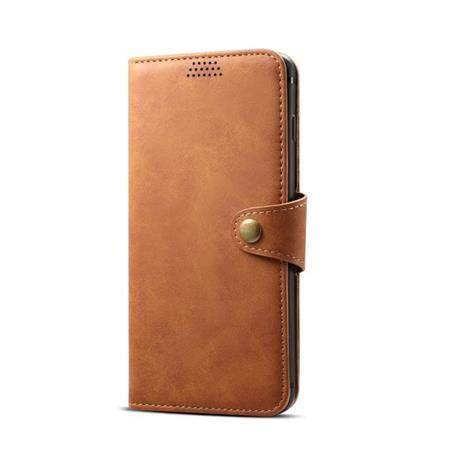Xiaomi Lenuo Leather na iPhone 8/7 , hnědá