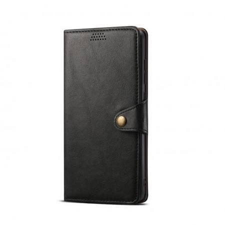 Lenuo Leather pro Xiaomi Mi 10T Lite, černá