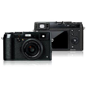 Fujifilm X100T Black + černé kožené pouzdro