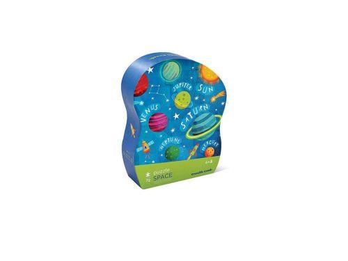 Crocodile Creek Junior Shaped Box Puzzles/Space 72 pcs puzzle