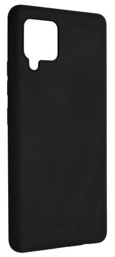 Fixed Zadní pogumovaný kryt Story pro Samsung Galaxy A42 5G FIXST-626-BK, černý
