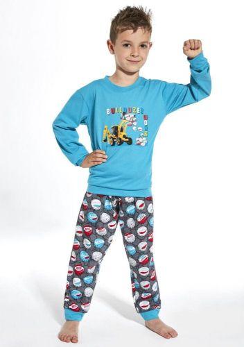 Cornette Dětské pyžamo Cornette 593/106 110/116 Sv. modrá