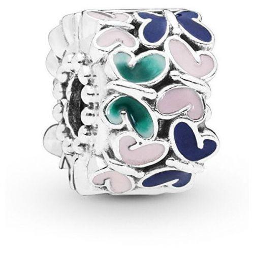 Pandora Stříbrný motýlkový korálek 797863ENMX stříbro 925/1000
