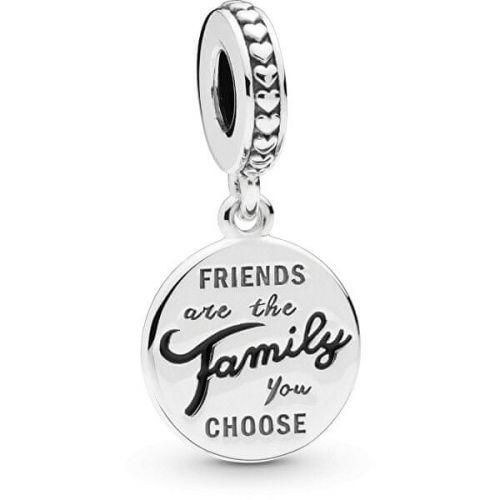 Pandora Stříbrný přívěsek pro nejlepší kamarádky 798124EN16 stříbro 925/1000