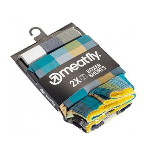 MEATFLY 2 PACK - pánské trenky Jukebox 20 - Double pack B (Velikost S)
