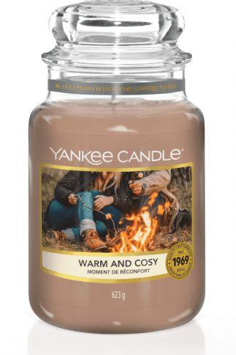 Yankee Candle WARM AND COSY Velká svíčka 623 g