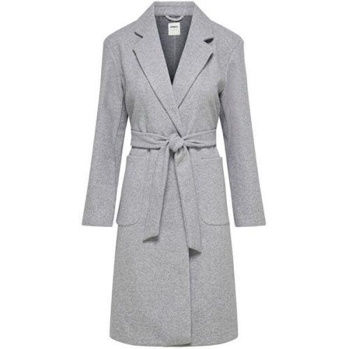 ONLY Dámský kabát ONLTRILLION 15223775 Light Grey Melange (Velikost XS)