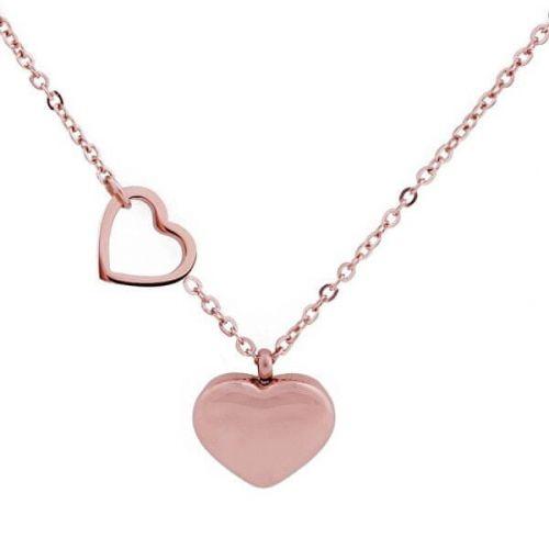 Vuch Romantický pozlacený náhrdelník Inlove Rose Gold