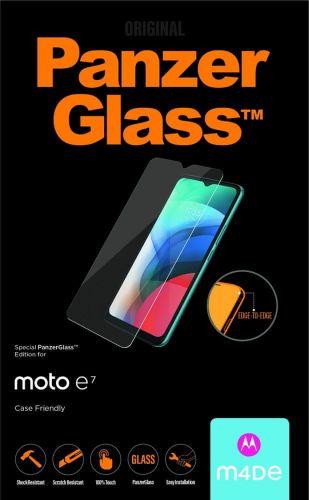 PanzerGlass Edge-to-Edge pro Motorola Moto E7 6537, černé