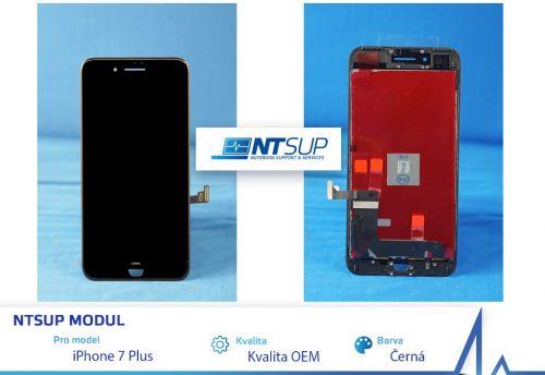 NTSUP LCD modul iPhone 7 PLUS černý kvalita B
