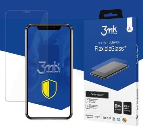 3MK Hybridní sklo FlexibleGlass pro Apple iPhone X