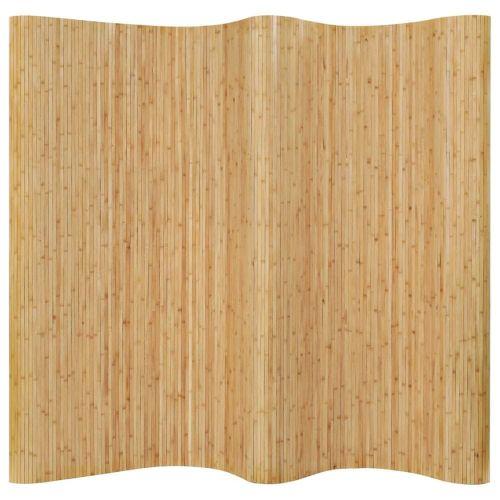 shumee Paraván bambusový 250 x 165 cm přírodní