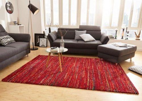 Mint Rugs AKCE: 80x150 cm Kusový koberec Nomadic 102688 Meliert Rot 80x150