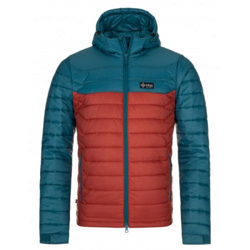 Kilpi Pánská zimní péřová bunda Kilpi SMITHERS-M Barva: Tyrkysová, Velikost: XXL
