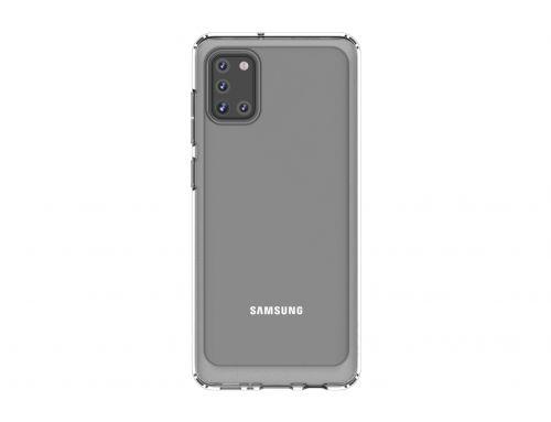 Samsung Průhledný zadní kryt pro A31 Transparent