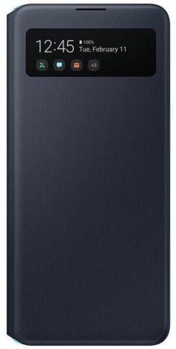 Samsung Flipové pouzdro S View Galaxy A51 5G EF-EA516PBEGEU, černá