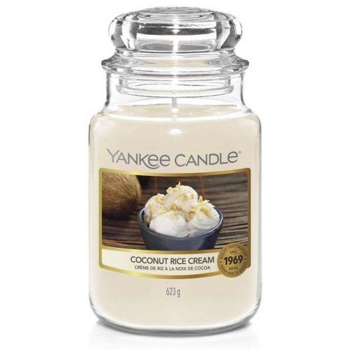 Yankee Candle vonná svíčka Coconut Rice Cream (Krém s kokosovou rýží) 623 g