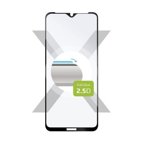 FIXED Ochranné tvrzené sklo Full-Cover pro Xiaomi Poco M3, lepení přes celý displej FIXGFA-621-BK, černé