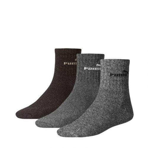 Puma 3PACK ponožky vícebarevné (241005001 207) - velikost S