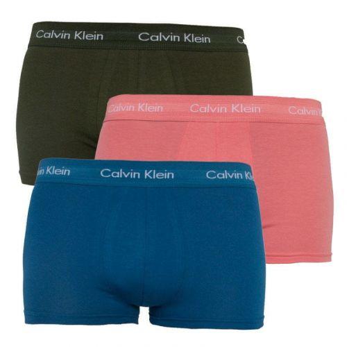 Calvin Klein 3PACK pánské boxerky vícebarevné (U2664G-MXN) - velikost S