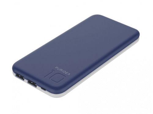 Puridea Externí baterie Power Bank Puridea S2 10000mah - modrá