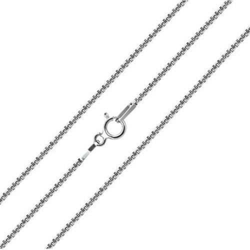 Brilio Silver Stříbrný řetízek 50 cm 471 086 00118 04 stříbro 925/1000