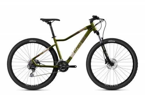 GHOST Lanao Essential 27.5 - Olive / Tan 2021 XS (145-160cm)