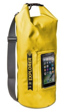 "Celly Explorer 10L s kapsou na telefon do 6, 2"", - žlutý"