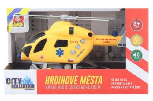 Lamps Záchranný vrtulník na setrvačník baterie