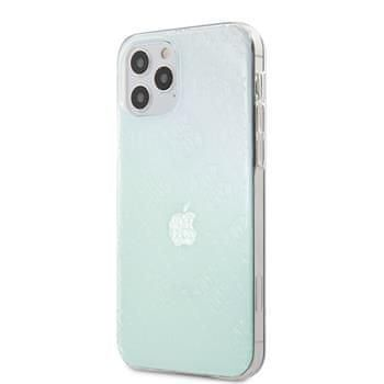 Guess GUHCP12L3D4GIRBL Guess 3D Raised Zadní Kryt pro iPhone 12 Pro Max 6.7 Iridescent