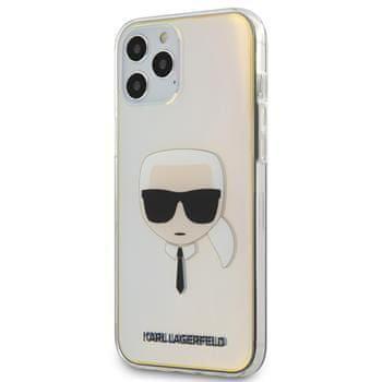 Karl Lagerfeld KLHCP12LPCKHML Karl Lagerfeld PC/TPU Head Kryt pro iPhone 12 Pro Max 6.7 Iridescent