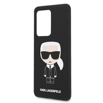 Karl Lagerfeld KLHCS69SLFKBK Karl Lagerfeld Full Body Kryt pro Samsung Galaxy S20 Ultra Black