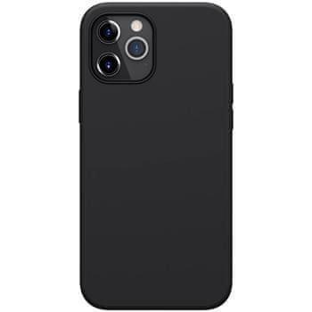 Nillkin Flex Pure Liquid Silikonový Kryt pro iPhone 12 Pro Max 6.7 Black