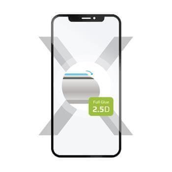 FIXED Ochranné tvrzené sklo FIXED Full-Cover pro Samsung Galaxy A80, lepení přes celý displej, černé