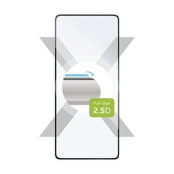 FIXED Ochranné tvrzené sklo FIXED Full-Cover pro Samsung Galaxy S10 Lite, lepení přes celý displej, černé