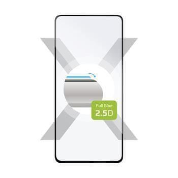 FIXED Ochranné tvrzené sklo FIXED Full-Cover pro Huawei P40, lepení přes celý displej, černé