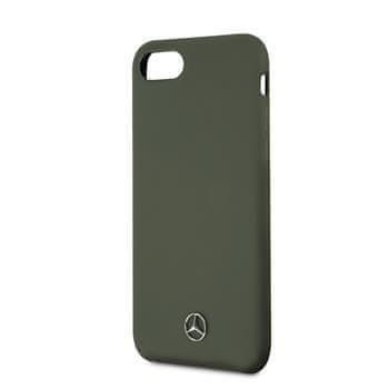 MERCEDES MEHCI8SILMG Mercedes Liquid Silikonový Kryt pro iPhone 7/8/SE2020 Green