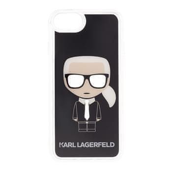 Karl Lagerfeld KLHCI8ICGBK Karl Lagerfeld Iconic Glitter Kryt pro iPhone 7/8/SE2020 Black