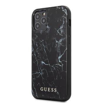 Guess GUHCP12SPCUMABK Guess PC/TPU Marble Zadní Kryt pro iPhone 12 mini 5.4 Black